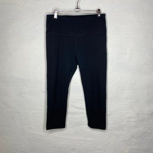 Zella cropped leggings size L black